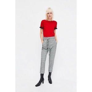 ◾️3/$25 Zara Frill T Shirt